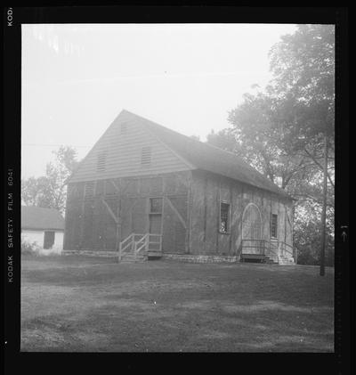 Old Mud Meeting House, Harrodsburg, Kentucky in Mercer County