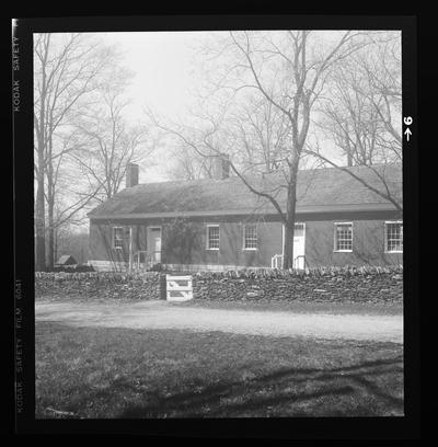 Blacksmith's shop, Shaker Village of Pleasant Hill, Kentucky in Mercer County