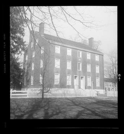 East Family House, Shaker Village of Pleasant Hill, Kentucky in Mercer County