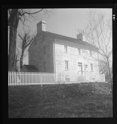 West Family House, Shaker Village of Pleasant Hill, Kentucky in Mercer County