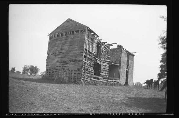Ruins of Harp House, Harp Innis Road, Fayette County, Kentucky