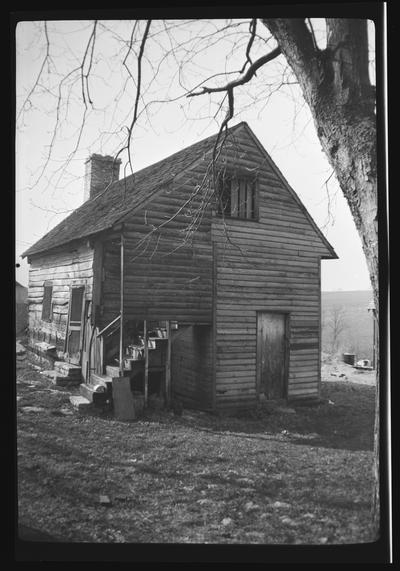 Bowman Cabin, Bowman Mill Road, Fayette County, Kentucky