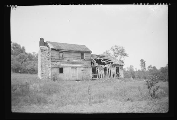 David Watts Log House, Sulphur Wells Road, Scott County, Kentucky