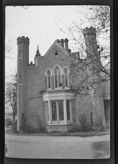 Ingleside, built in 1852, demolished 1964, Lexington, Kentucky in Fayette County
