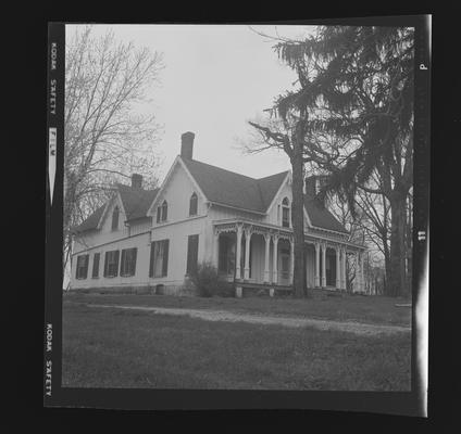Walnut Grove John McClintock home near Millersburg, Kentucky in Bourbon County