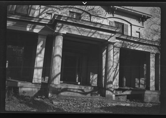 James B. Clay House, Forest Ave. Lexington, Kentucky in Fayette County