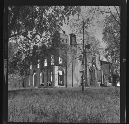 Ruins of Cane Run or Glengarry, Lexington, Kentucky in Fayette County
