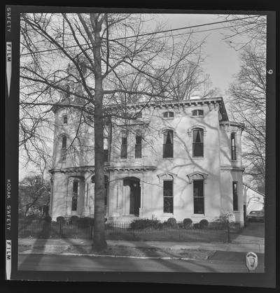 Maria Dudley House. North Mill Street. Lexington, Kentucky