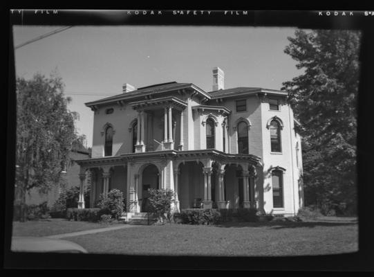 George Lancaster house. 326 South Broadway. Lexington, Kentucky