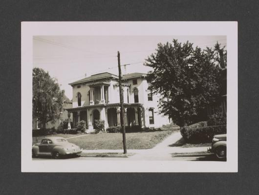 George Lancaster house. 326 South Broadway. Lexington, Kentucky