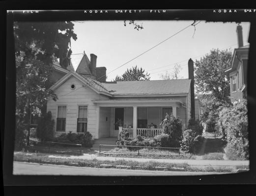 Mrs. Rebecca Lowe house. 337 Walnut Street/ Lexington, Kentucky