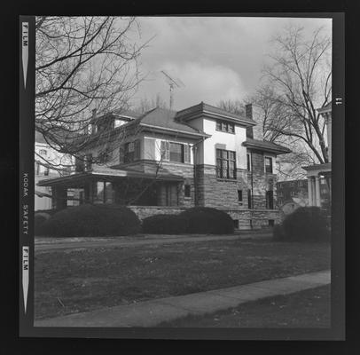 Leonard Cox house. West Third Street. Lexington, Kentucky
