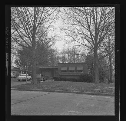 F.L. McVey house. Tahoma Road. Lexington, Kentucky