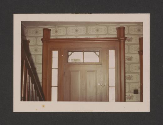 Grant door, The Maples. Keene-Troy Pike