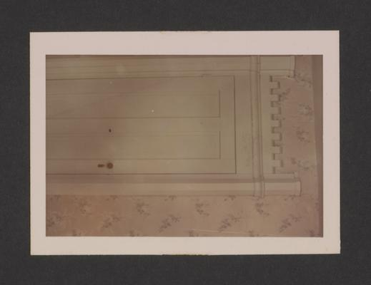 Parker door at Pleasant Grove. Keene-Troy Pike