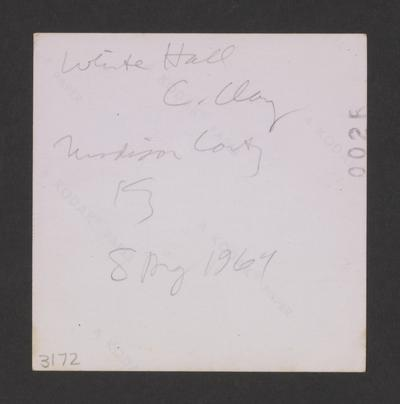 White Hall, C. Clay, Madison County, Kentucky