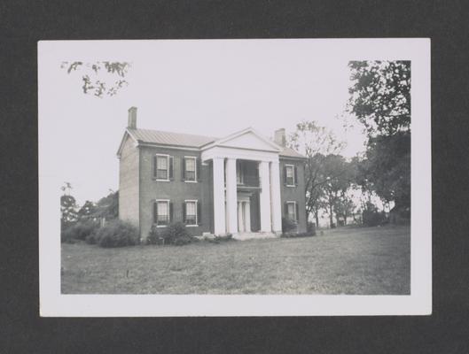 Land house, Parkers Mill road, Lexington, Kentucky