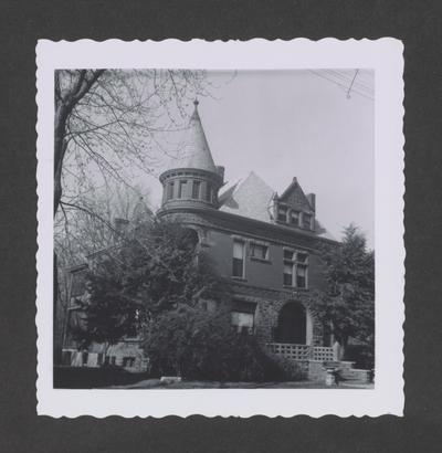 Walter Scott house, 416 West Third Street, Lexington, Kentucky