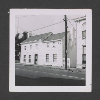 Reverend Adam Parker house, High Street, Lexington, Kentucky