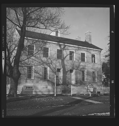 Center Family House, Shaker Village of Pleasant Hill, Kentucky in Mercer County