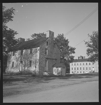 Unidentified building, Shaker Village of Pleasant Hill, Kentucky in Mercer County