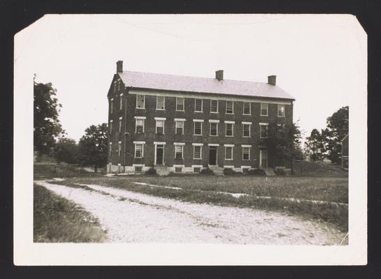 Shaker house near Auburn, Kentucky in Logan County