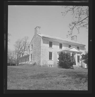 Stone house on Clear Creek, Versailles-Nicholasville Road, Woodford County, Kentucky