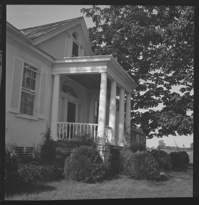 Bob Harrison's House, also knows as White Hall, Troy, Kentucky in Jessamine County
