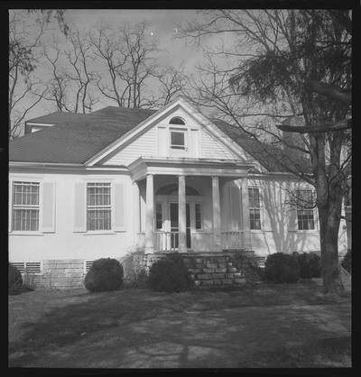 Bob Harrison's [Henson?] House, also knows as White Hall, Troy, Kentucky in Jessamine County