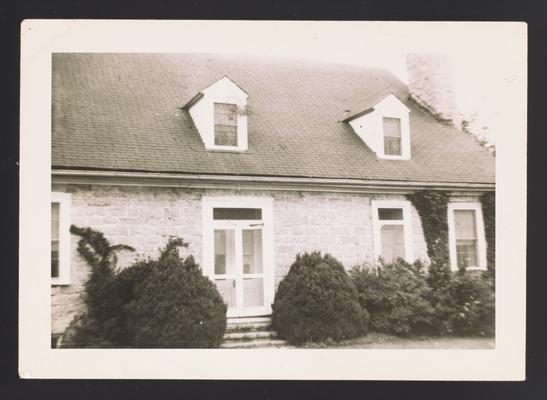 Stone house near Lousiville, Kentucky in Jefferson County
