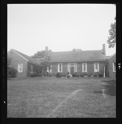 John Martin House, Basin Spring Road, Clark County, Kentucky