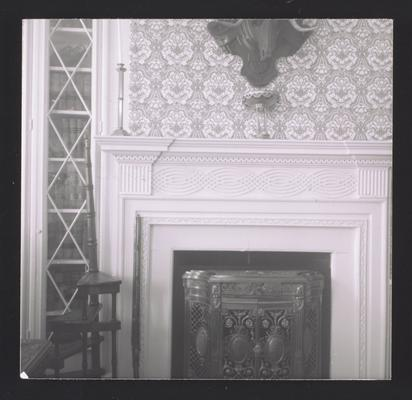 Parlor mantel at White Hall, located in Madison County, Kentucky, Cross reference 2756-2757
