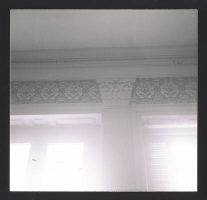 Pilaster in parlor at White Hall, located in Madison County, Kentucky. Cross reference 2752-2755