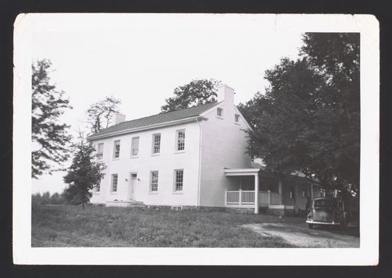 Mrs. _________ House, Greendale Road, Lexington, Kentucky in Fayette County