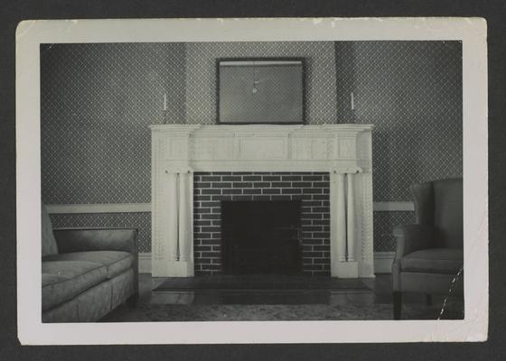 Mantel at Greenwood, Redd Road, Fayette County, Kentucky