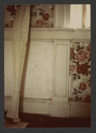 Stair detail at the Price House, unknown location in Kentucky