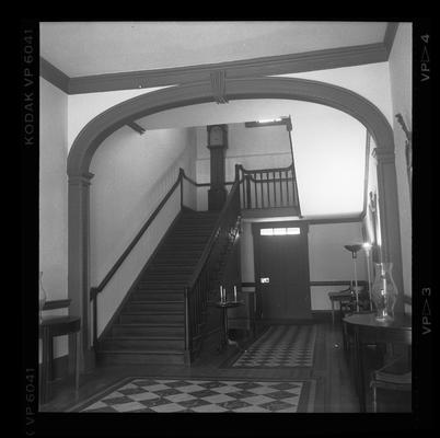 The front hall at Liberty Hall, Frankfort, Kentucky in Franklin County