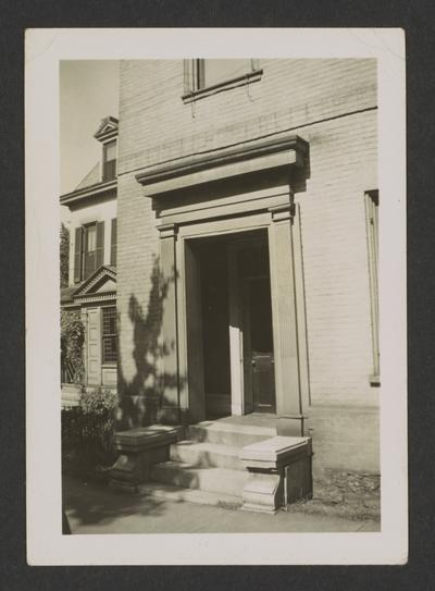 Laura Clay's House, the southwest corner of Mill and Second Streets, Lexington, Kentucky in Fayette County