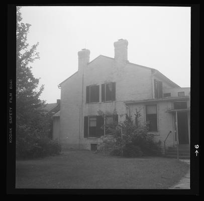 David J. Ayers House circa 1835, Broadway Street, Danville, Kentucky in Boyle County