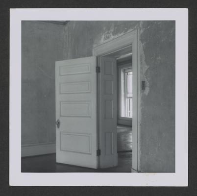 Interior doorway at the David J. Ayers House circa 1835, Broadway Street, Danville, Kentucky in Boyle County