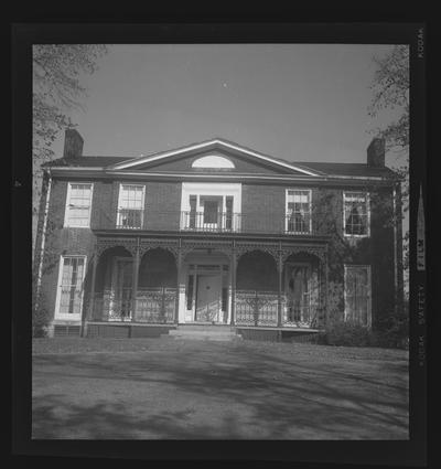 Blackburn House, Versailles, Kentucky in Woodford County