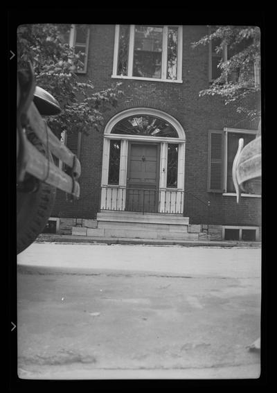 Mount Hope, Benjamin Gratz House, Mill Street, Lexington, Kentucky in Fayette County