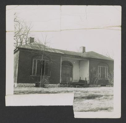 Jackoniah Singleton House, Lexington-Harrodsburg Pike, Jessamine County, Kentucky