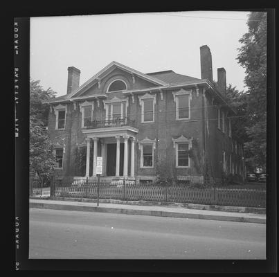 Mathew Kennedy House, North Limestone Street next to Sayre School, Lexington, Kentucky in Fayette County