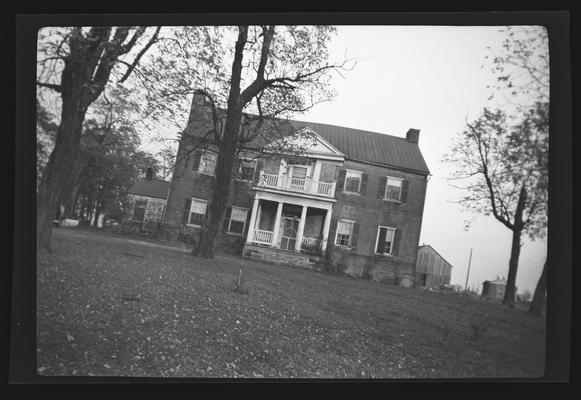 Marshall Home, built in 1800, Washington, Kentucky in Mason County
