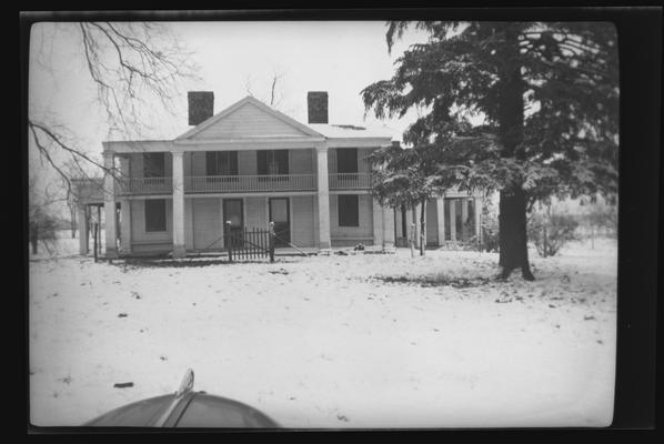 Albert House, Winchester Pike, Fayette County, Kentucky
