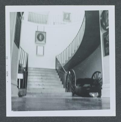 Staircase at the Old Statehouse, Old Kentucky State Capitol, Frankfort, Kentucky in Franklin County