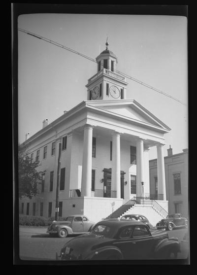 Maysville City Hall in Mason County, Kentucky