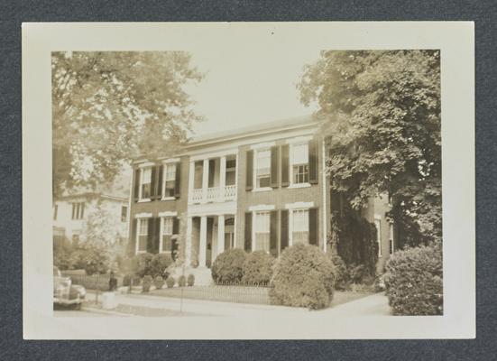 John B. Clark House, Bowling Green, Kentucky in Warren County