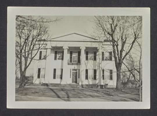 Showalter House, Lexington, Kentucky in Fayette County